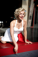 Wax Marilyn in front of Grauman's Chinese Theater