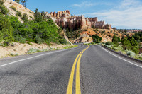 The road to HooDooville, near Bryce Canyon NP