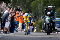 Levi Leipheimer on his way to winning the time trial.....