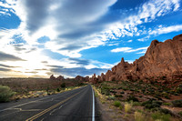 Chasing the sun in Arches NP